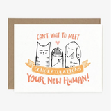 New Human Baby Card