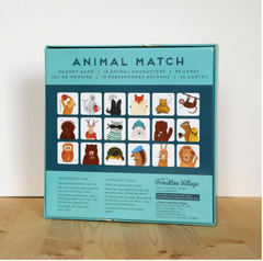 Animal Match Memory Game - Strollerdepot