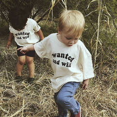 Wanted and Wild Tee