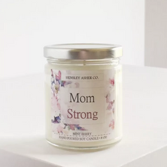 Motherhood Inspired Sayings Mint Berry Soy Candle 8oz