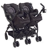 Maxi Cosi Dana For 2 Stroller - Devoted Black
