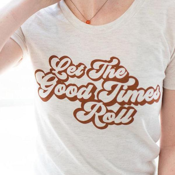 Let the Good Times Roll Graphic Tee - Strollerdepot