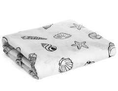 Organic Cotton Muslin Swaddle Blankets - Multiple Prints & Colors