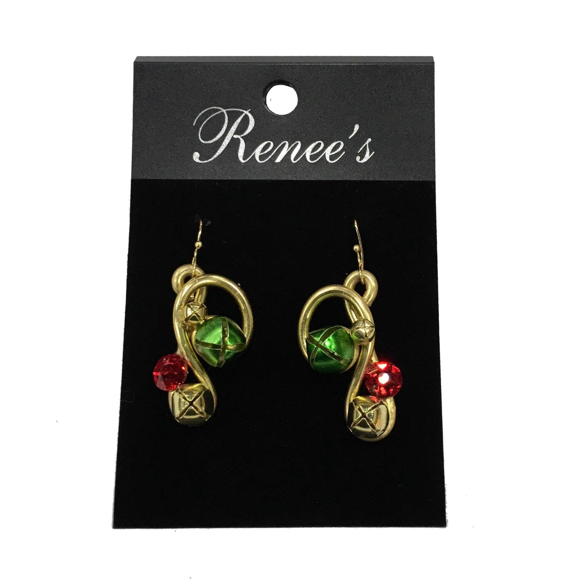 Gold Jingle Bells Earrings
