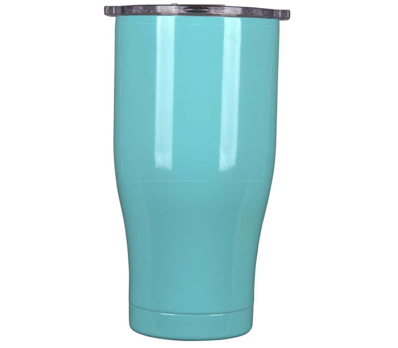 27 oz Seafoam/Clear Lid