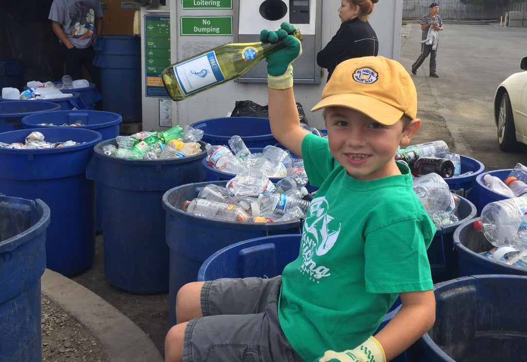 7-Year-Old Boy Starts Recycling Company To Help Clean Up Our Oceans