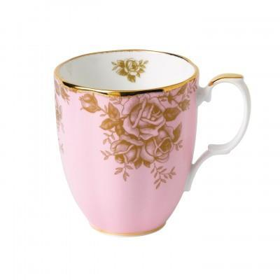 100 Years Of Royal Albert 1960 Golden Rose Mug - Boutique Marie Dumas