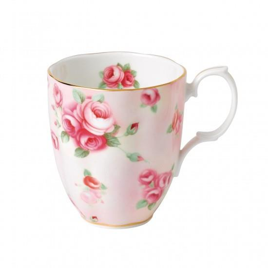 100 Years Of Royal Albert 1980 Rose Blush Mug - Boutique Marie Dumas