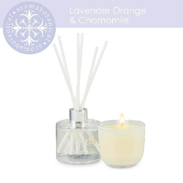 2 Piece Lavender, Orange & Chamomile Gift Set - Boutique Marie Dumas