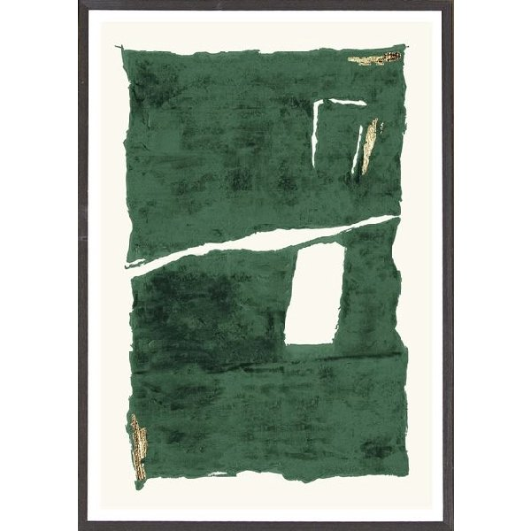 Abstract Emerald I - Boutique Marie Dumas