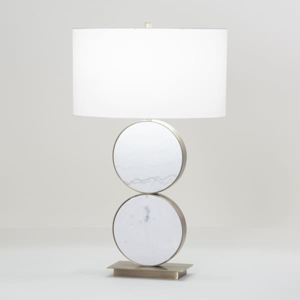 Bakersfield Circle Table Lamp - Boutique Marie Dumas
