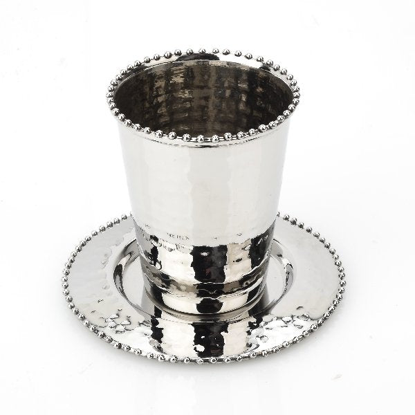 Beaded Celebration Cup & Tray - Boutique Marie Dumas