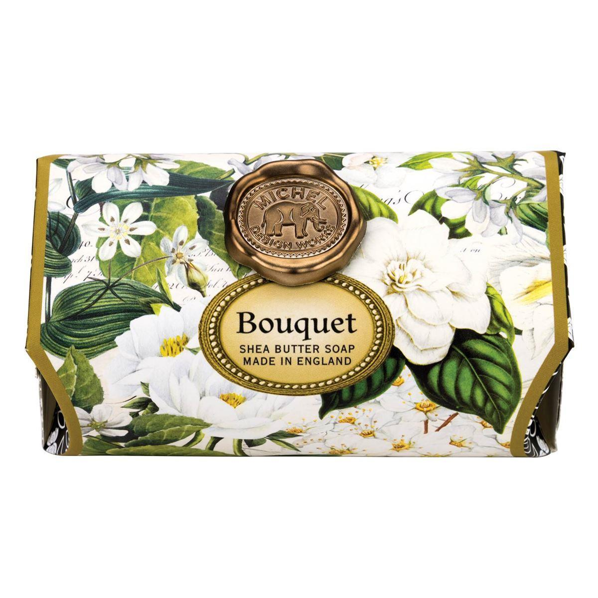 Bouquet Large Bath Soap Bar - Boutique Marie Dumas