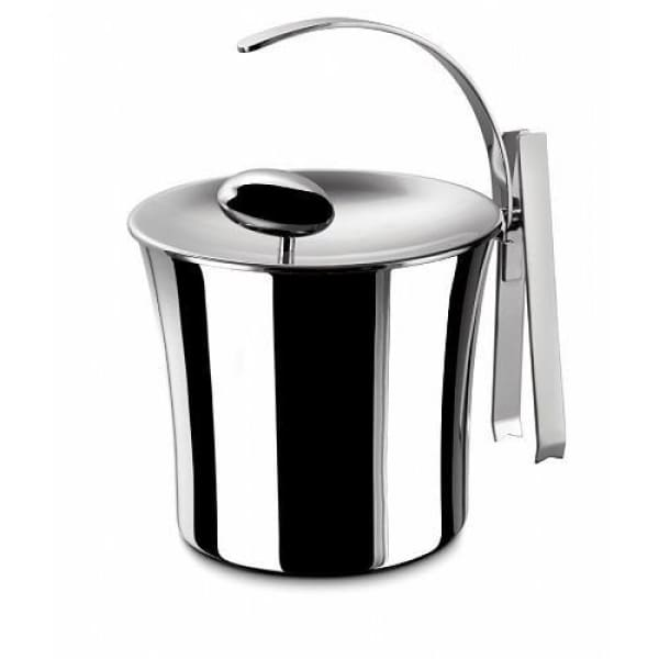 Bugatti Acqua Ice Bucket w/ Lid and Tongs - Boutique Marie Dumas