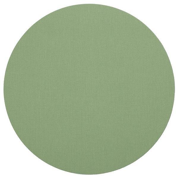 Canvas Round Green Moss Placemat - Boutique Marie Dumas