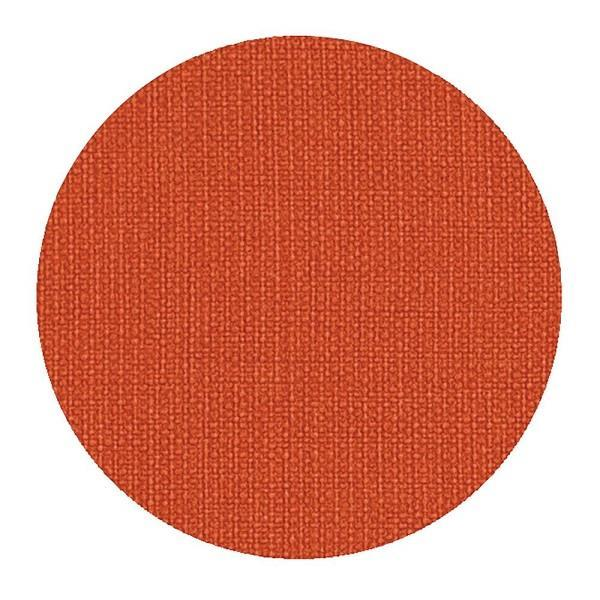 Canvas Round Orange Coasters - Boutique Marie Dumas