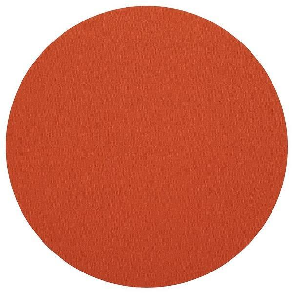 Canvas Round Orange Placemat - Boutique Marie Dumas
