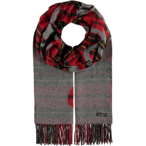 Cashmink Scarf - Plaid Patches - Boutique Marie Dumas