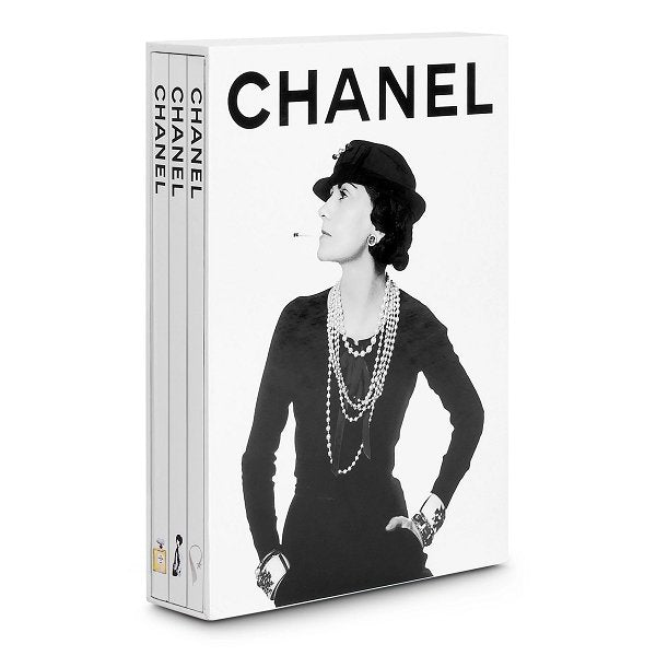 Chanel 3-Book Slipcase Coffee Table Book - Boutique Marie Dumas