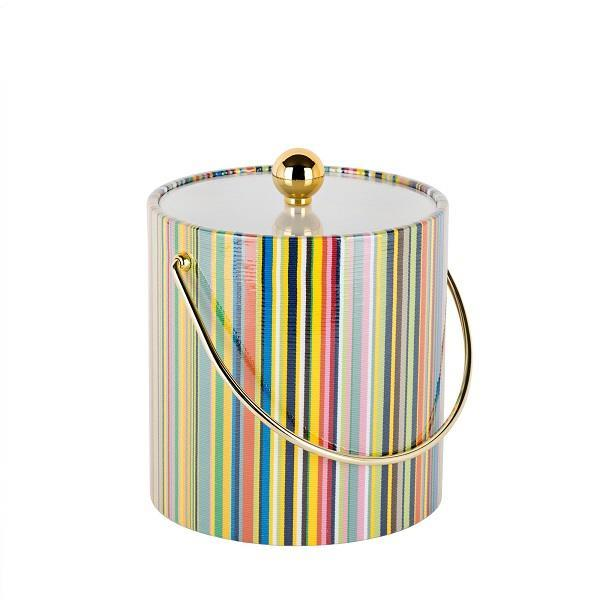 Colorful Stripes Nice Bucket - Boutique Marie Dumas