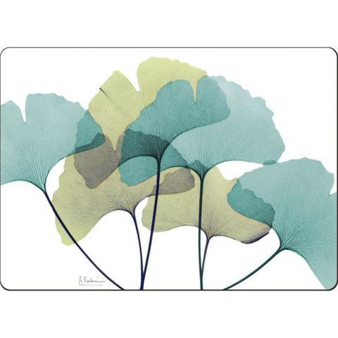 Cork Placemats Set of 4 - Ginkgo - Boutique Marie Dumas