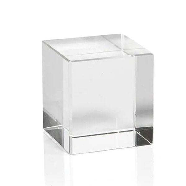 Cystal Glass Cube - Small - Boutique Marie Dumas