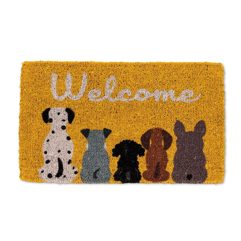"Dog ""Welcome"" Doormat - Boutique Marie Dumas"