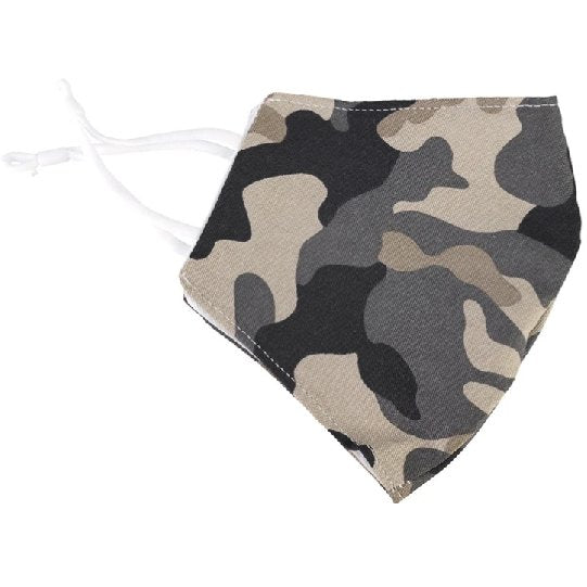 Fashionable Face Mask - Camouflage Cotton - Boutique Marie Dumas