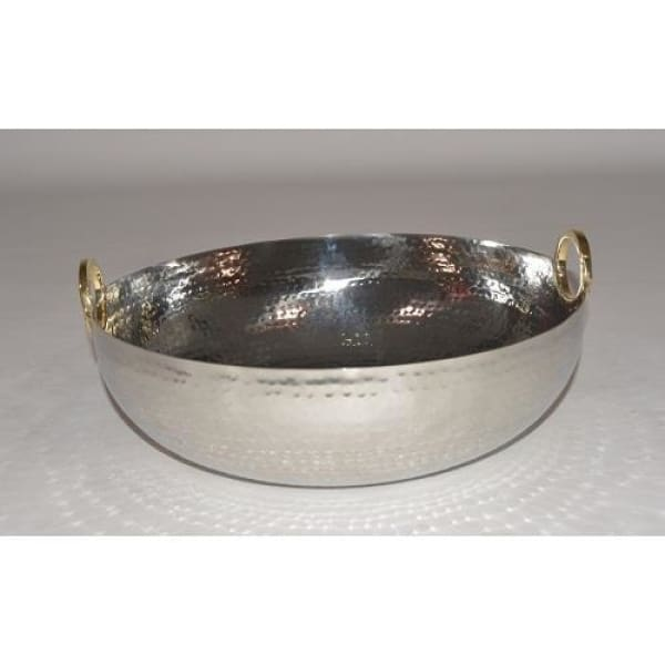 Gold Ring Salad Bowl - Boutique Marie Dumas