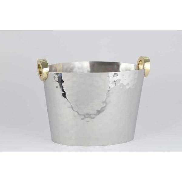 Gold Ring Wine Bucket - Boutique Marie Dumas