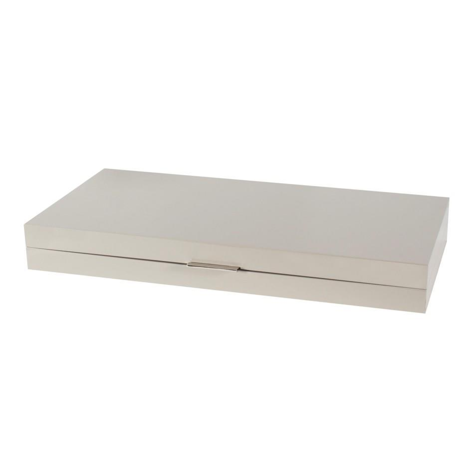 Grey Lacquered Box 20X9 - Boutique Marie Dumas