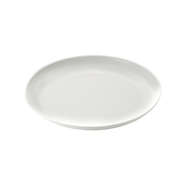 Guzzini Dinner Plate Fusion - Milk White - Boutique Marie Dumas