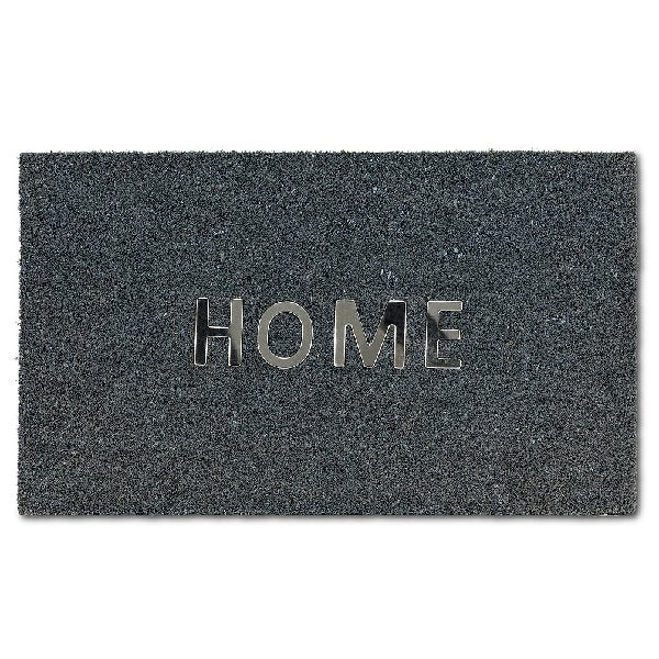 Home Charcoal Doormat - Boutique Marie Dumas