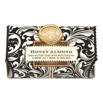 Honey Almond Large Bath Soap Bar - Boutique Marie Dumas