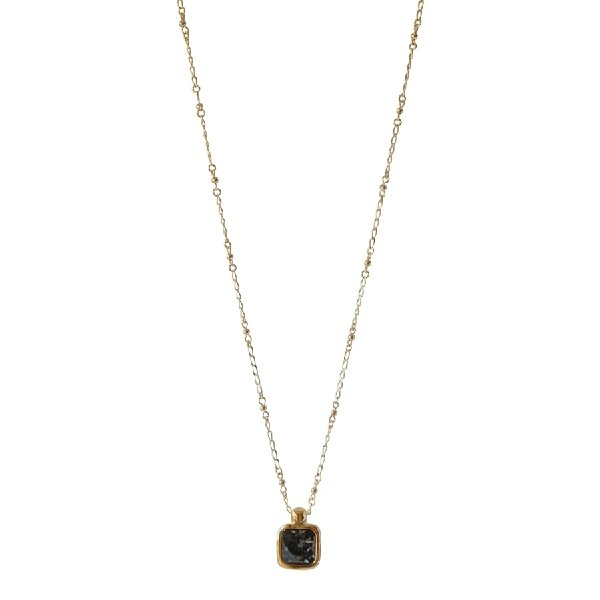 Isabella Necklace - Silver Night - Boutique Marie Dumas