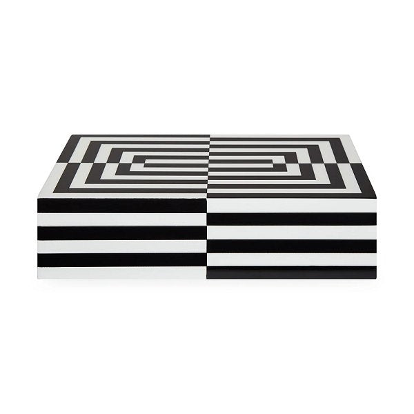 Jonathan Adler Op Art Box - Large - Boutique Marie Dumas