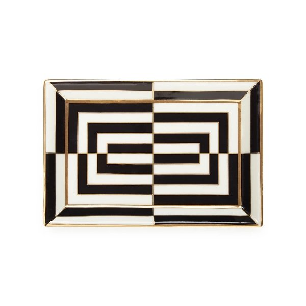 Jonathan Adler Op Art Rectangular Tray - Boutique Marie Dumas