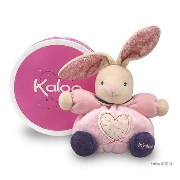 Kaloo Petite - Small Pink Rabbit with Heart - Boutique Marie Dumas