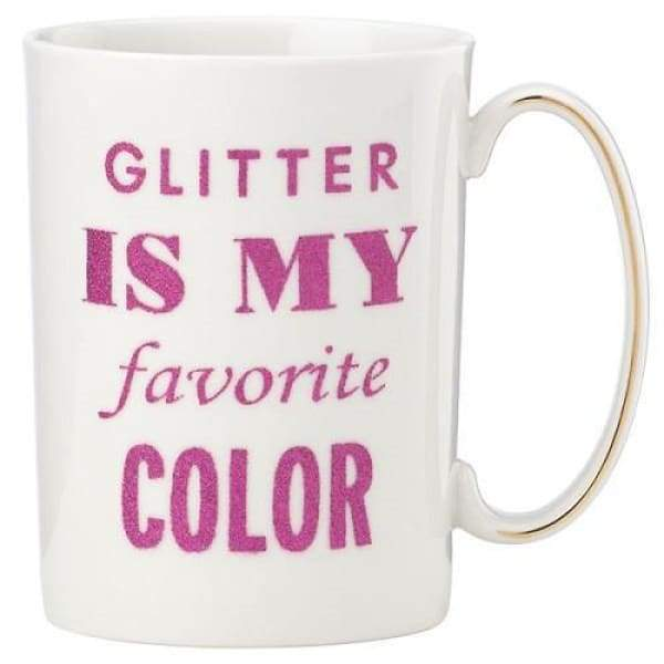 Kate Spade Glitter Is My Favorite Color Mug - Boutique Marie Dumas