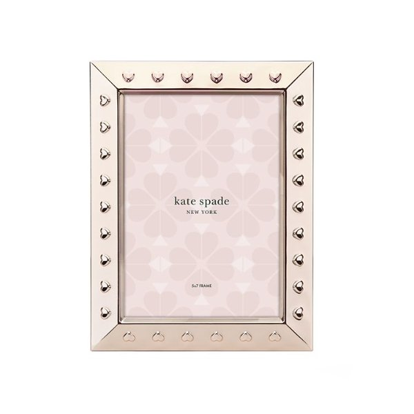 Kate Spade Heart to Heart 5x7 Frame - Boutique Marie Dumas