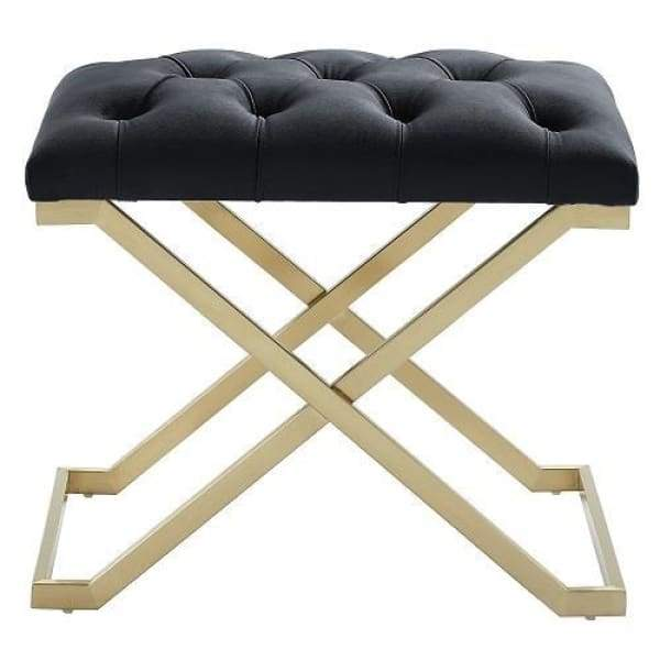 Kylie Bench Black and Gold - Boutique Marie Dumas