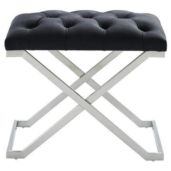 Kylie Bench Black and Silver - Boutique Marie Dumas