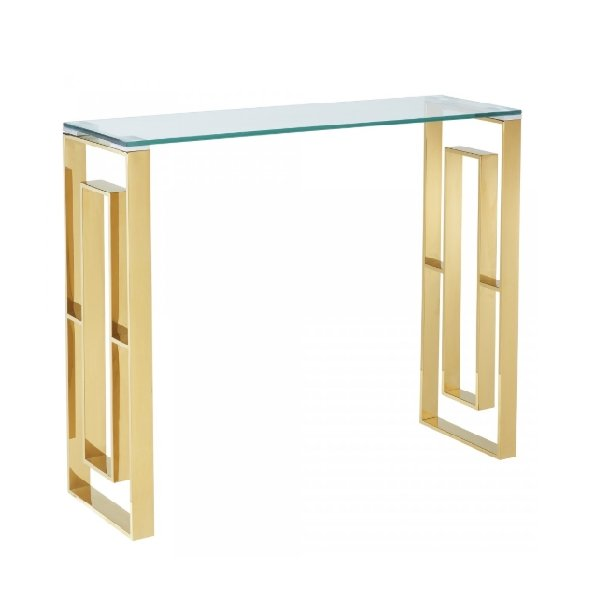 Lily Gold Console Table - Boutique Marie Dumas