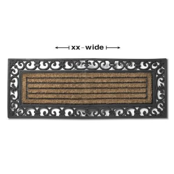 Long Grill Doormat with Border - Boutique Marie Dumas