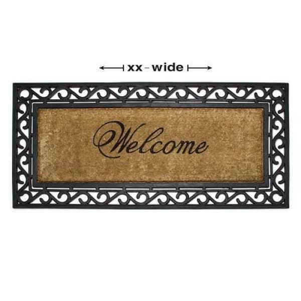 Long ''Welcome'' Doormat 22 x 48'' - Boutique Marie Dumas