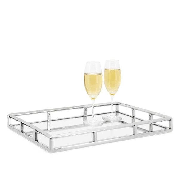 Lux Angle Edge Rectangular Tray - Large - Boutique Marie Dumas