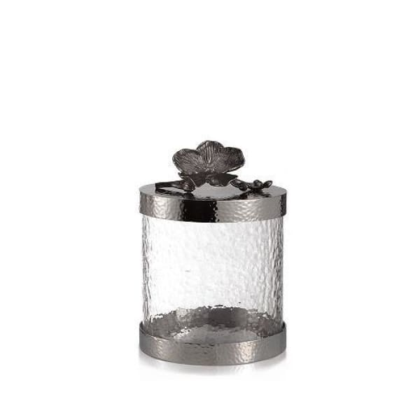 Michael Aram Black Orchid Canister Extra Small - Boutique Marie Dumas
