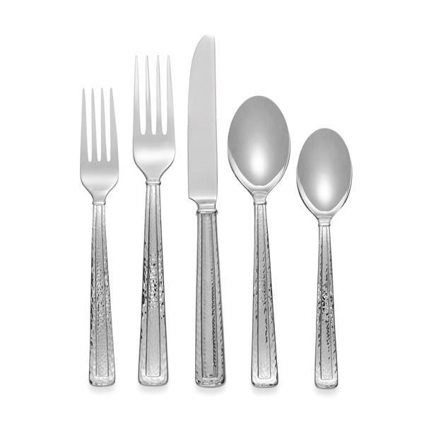 Michael Aram Hammertone 5 Piece Flatware Set - Boutique Marie Dumas