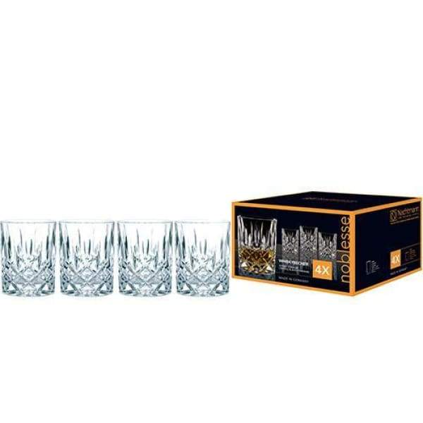 Nachtmann Noblesse Whisky Set of 4 Glasses - Boutique Marie Dumas
