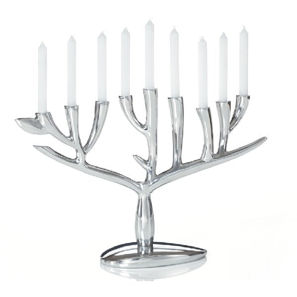 Nambe Menorah - Tree Of Life - Boutique Marie Dumas
